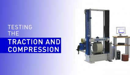 High capacity traction machines to test many materials in laboratories