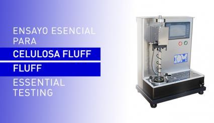 El equipo de ensayo fundamental para fabricantes de pasta o celulosa fluff según norma SCAN-C 33