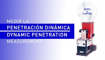 Ensayos de penetración dinámica: equipos de laboratorio para el sector papel