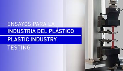 Ensayos y control de calidad para la industria del plástico