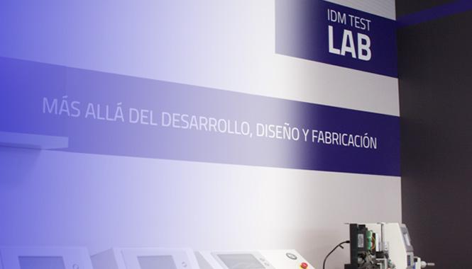 IDM Test Lab, equipos de ensayos y sistemas de control de calidad en acción