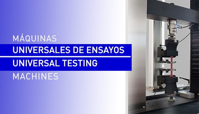 New Generation of Universal Testing Machines for Tensile and Compression testings