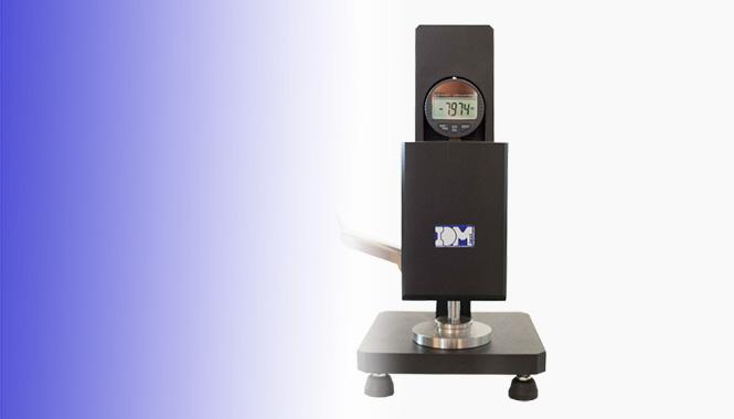 Nuevo y robusto micrómetro digital manual para la industria del cartón ondulado
