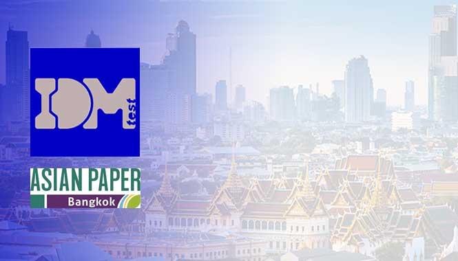 IDM Test en Asian Paper, el encuentro referente en Asia para los agentes del sector papel y papel tisú.