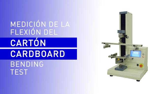 Equipment for determining the cardboard bending