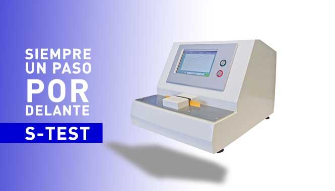 Compresómetro de muestras avanzado: S-TEST