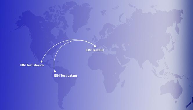IDM Test México, nuestra segunda filial en Latino América
